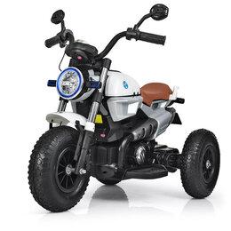 Электромобили - Детский электромотоцикл с надувными колесами, 0