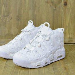 Кроссовки и кеды - Кроссовки Nike Air More Uptempo supreme white, 0
