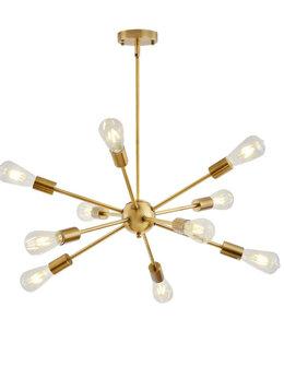 Люстры и потолочные светильники - Люстра Спутник лофт на 10 ламп новая в коробке, 0