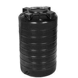 Бочки - Бочка пластиковая для воды ATV 750 литров черная (доставка по городу; 0,75 куба, 0