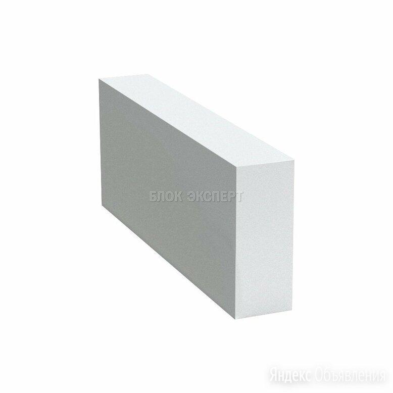 Б-1 Блок газобетонный Сибит 625х100х250 D600/B2.5 по цене 3600₽ - Строительные блоки, фото 0