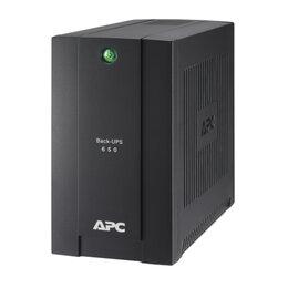 Источники бесперебойного питания, сетевые фильтры - Источник бесперебойного питания APC Back-UPS BC650-RSX761, 4 розетки, 650 ВА,..., 0