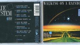 Музыкальные CD и аудиокассеты - Blue System – Walking On A Rainbow (C press) CD , 0