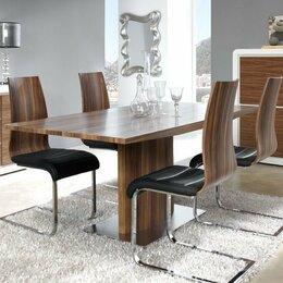 Столы и столики - Обеденный стол раздвижной 160-200 см орех ESF, 0