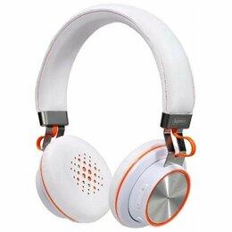 Наушники и Bluetooth-гарнитуры - Наушники гарнитура Bluetooth Remax RB-195HB, 0