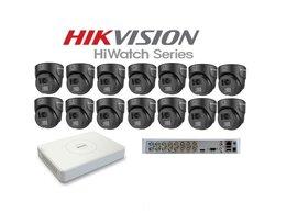 Камеры видеонаблюдения - Комплект видеонаблюдение Universal на 14камер 2мр, 0