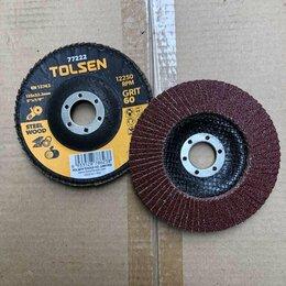 Для шлифовальных машин - Круг шлифовальный лепестковый 125х22.2 мм; P60, 0