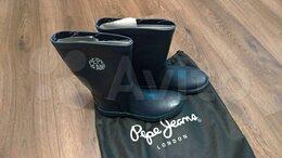 Резиновые сапоги и калоши - Резиновые утеплённые сапоги Pepe Jeans London, 0