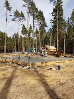 Строительство - Фундамент монолитный, стяжка пола под ключ, 0
