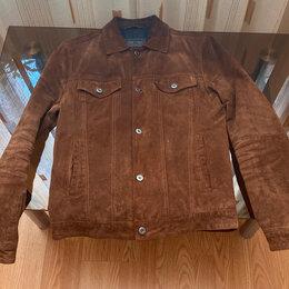 Куртки - Кожаная куртка ZARA (M), 0
