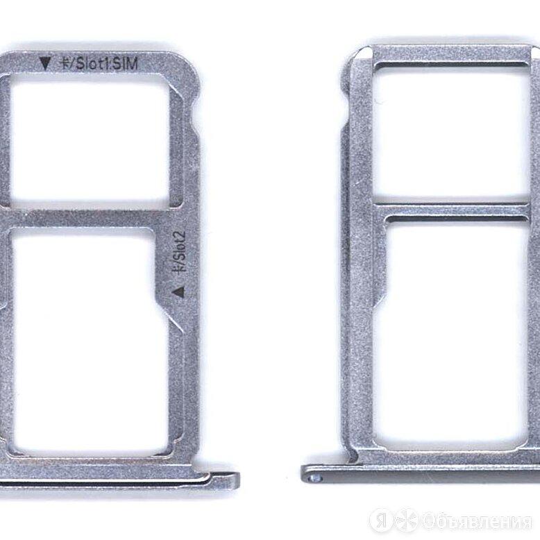 Лоток для SIM-карты Huawei GR5 2017 серый по цене 53₽ - Защитные пленки и стекла, фото 0