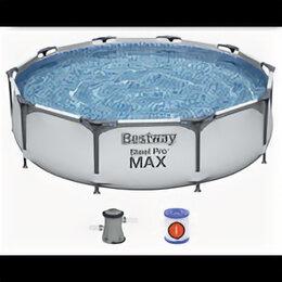 Бассейны - 56408 Bestway Каркасный бассейн Steel Pro Max…, 0