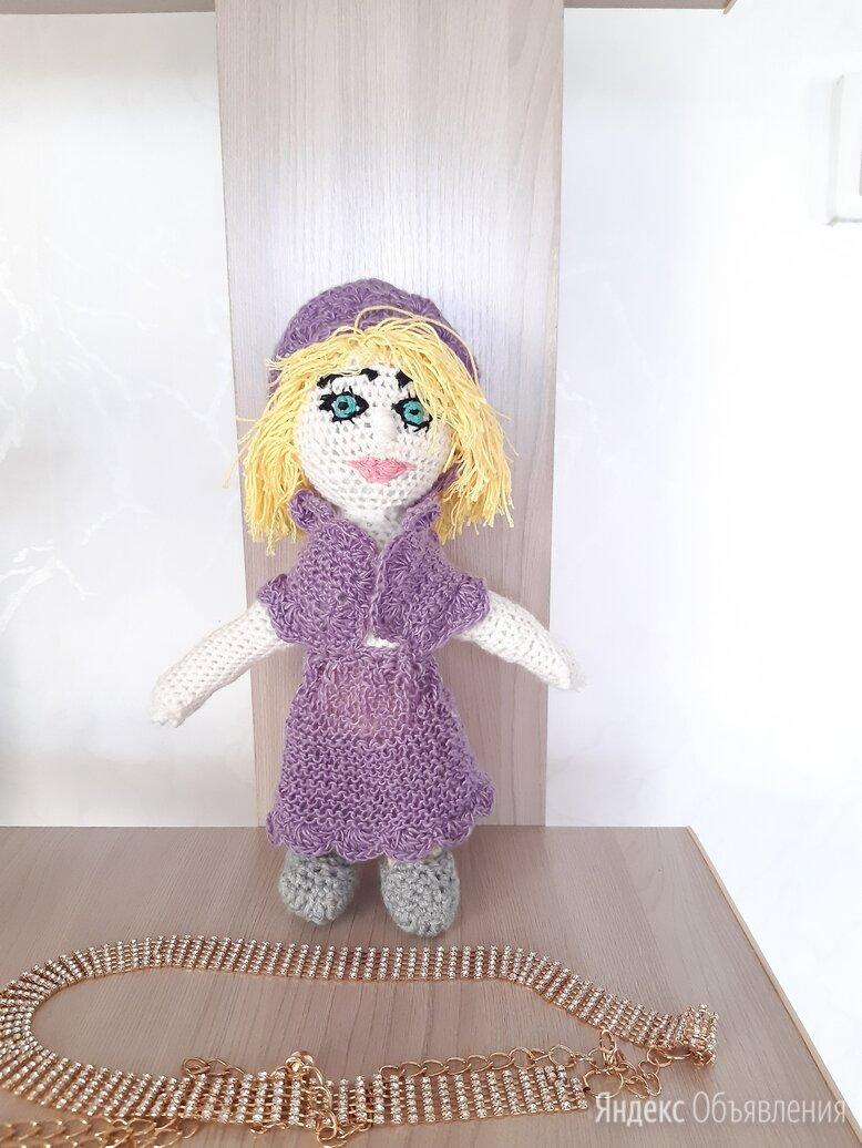 Игрушка вязаная по цене 1500₽ - Куклы и пупсы, фото 0