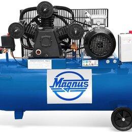 Воздушные компрессоры - Компрессор воздушный Magnus KW-525/100 (8атм.,3,0кВт, 380В,Ф65), 0