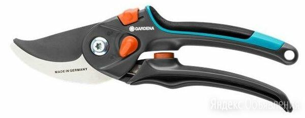 Секатор контактный Gardena B/S-XL черный/синий (08905-20.000.00) по цене 2650₽ - Ручные секаторы, высоторезы, сучкорезы, фото 0