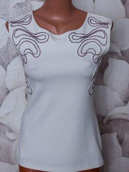Блузки и кофточки - Блузка женская с биссером, 0