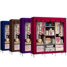 Шкафы, стенки, гарнитуры - Тканевый шкаф складной 3 секции, 0