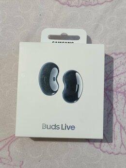 Наушники и Bluetooth-гарнитуры - Беспроводные наушники Samsung Galaxy Buds Live, 0