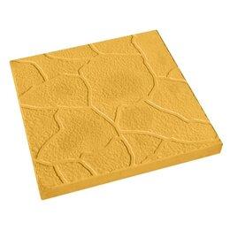 Тротуарная плитка, бордюр - Тротуарная плитка 300*300*30 тучка желтая, 0