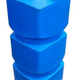 Баки - Бак объемом  0,75 куба из пластика. Вертикальный. Узкий и прямоугольный, 0