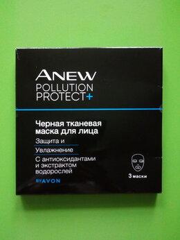 Маски - Черная тканевая маска для лица Защита и…, 0