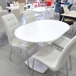 Столы и столики - Обеденный стол Вегас, закаленное стекло, 0