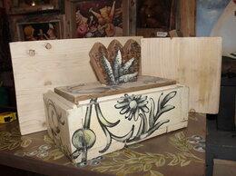 Шкатулки - Ларец из дерева с авторским рисунком., 0