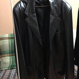Куртки - Куртка кожаная новая, 0