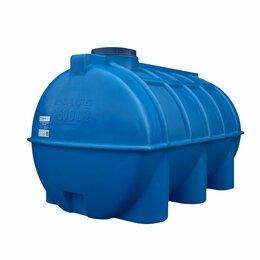 Баки - Бак для воды ОГ 1500 литров горизонтальный, 0