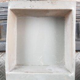 Тротуарная плитка, бордюр - Форма для изготовления брусчатки. Большой квадрат.   Есть в количестве., 0