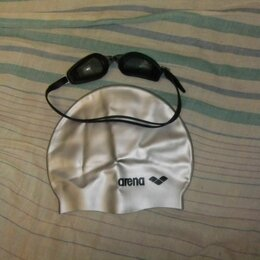 Аксессуары для плавания - очки для плаванья, 0