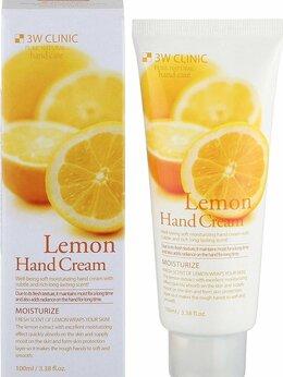Уход за руками - 3W Clinic Крем для рук с экстрактом лимона…, 0
