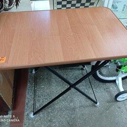 Походная мебель - Стол туристический раскладной деревянный два положения по высоте, 0