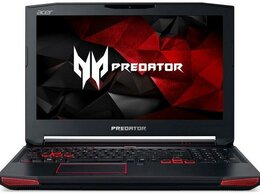 Ноутбуки - Acer 15.6 i7-7700HQ 4яд8пт GTX1070 16Gb SSD120 1Tb, 0