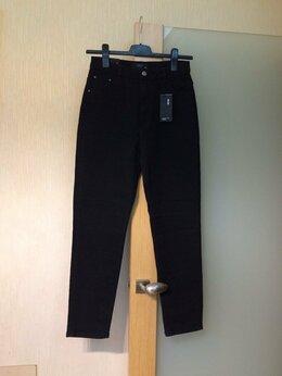 Джинсы - 44-46 размер 160 рост Reserved Mom черные джинсы…, 0