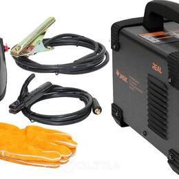 Сварочные аппараты - Сварочный инвертор (маска+краги) Сварог ARC 200 REAL Z238 Black, 0