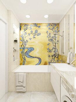Мозаика - Мозаика в ванную мозаичные картины в ванную, 0