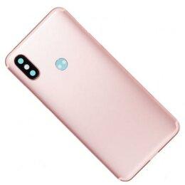 Корпусные детали - Mi A2 задняя крышка для Xiaomi Mi A2, Mi 6X, розовый, 0