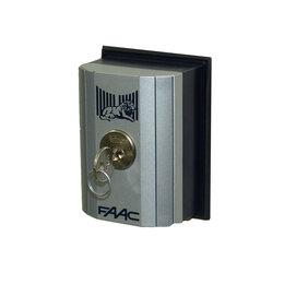 Электроустановочные изделия - FAAC Т10 Е (401019003) ключ выключатель, 0