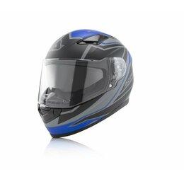 Мотоэкипировка - Шлем интеграл GSB FULL FACE X - STREET BLUE BLACK, 0