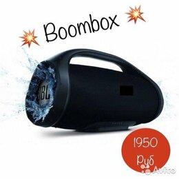 Акустические системы - Портативная беспроводная колонка Boombox, 0