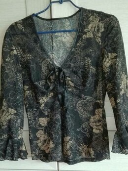 Блузки и кофточки - Блузка кружевная 46 р., 0