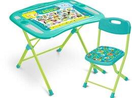 Столы и столики - Nika Комплект NKP1/4 Пушистая Азбука, 0