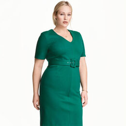 Платья - H&M+ Новое с биркой 3XL платье футляр plus size…, 0