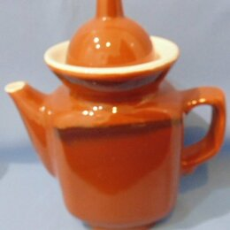 Заварочные чайники - Чайник заварочный. Саракташский фаянсовый завод., 0