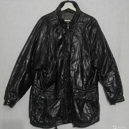 Куртки - Куртки джинсовые и кожаная р.48,50,52, 0
