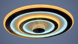 Люстры и потолочные светильники - Светильник LED потолочный НJT10016/500 148 W с ПДУ, 0