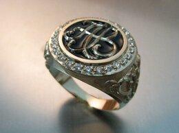 Кольца и перстни - Мужское кольцо с монограммой, 0