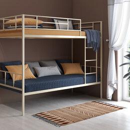 Кровати - Новая двухъярусная кровать с бесплатной доставкой, 0