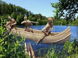 Фигурки и наборы - солдатики 1 32 Barzso Индейцы Могавки в каноэ 3…, 0